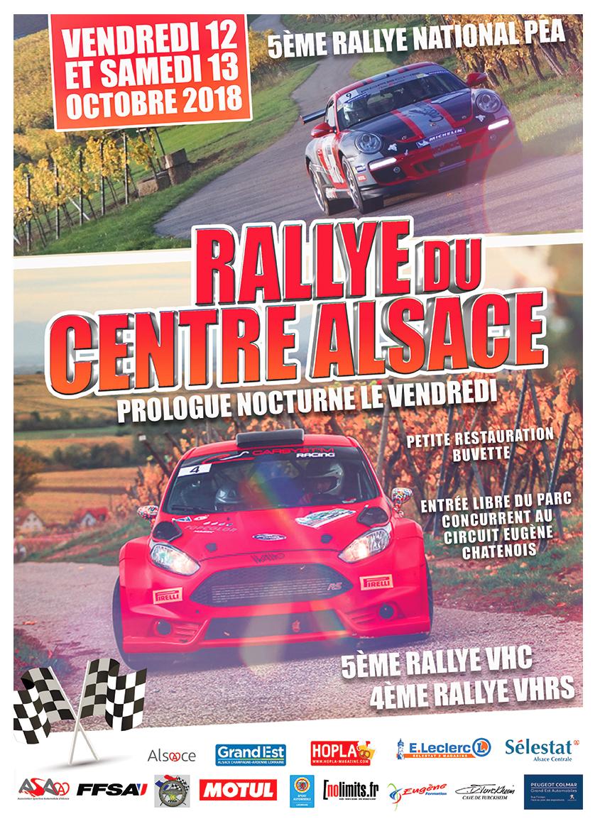 Rallye centre Alsace 2018 Asa Alsace