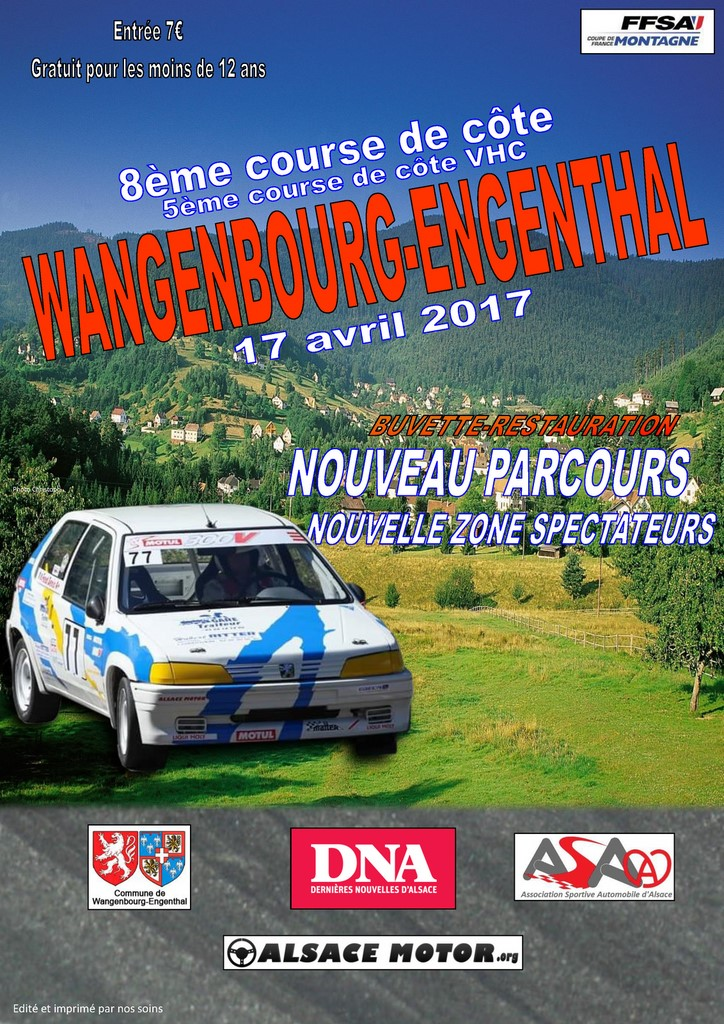 Course wagenbourg Asa Alsace