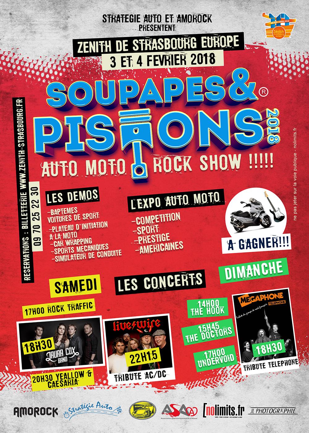 Soupapes et Pistons - Asa Alsace - nolimits.fr